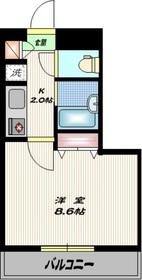 ジョイシティ品川9階Fの間取り画像