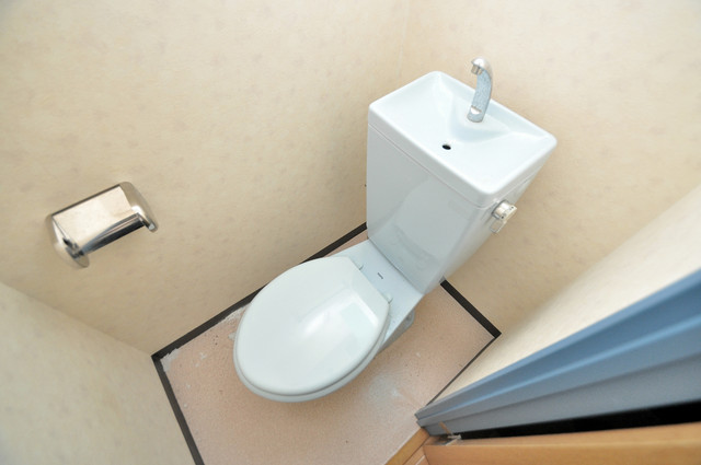 スパジオビィータ スタンダードなトイレは清潔感があって、リラックス出来ます。