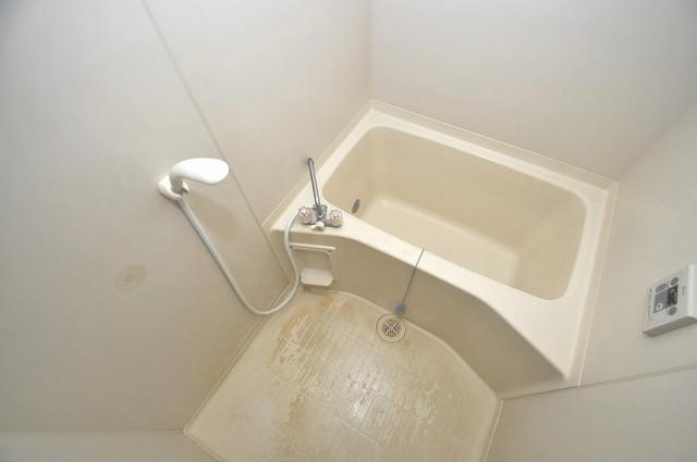 スパジオビィータ ちょうどいいサイズのお風呂です。お掃除も楽にできますよ。