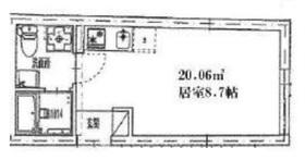 護国寺駅 徒歩5分2階Fの間取り画像