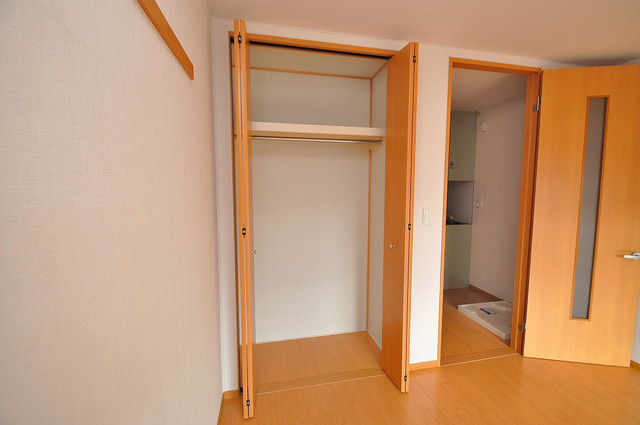 アリエッタ西堤 もちろん収納スペースも確保。お部屋がスッキリ片付きますね。