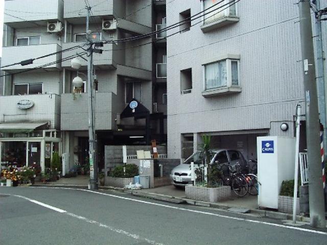 スカイコート鶴見5エントランス