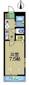 ドエル経堂2階Fの間取り画像