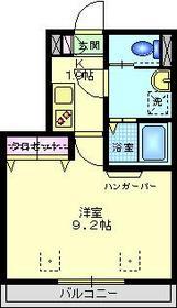 エクレールA棟1階Fの間取り画像