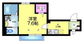 maison AN2階Fの間取り画像