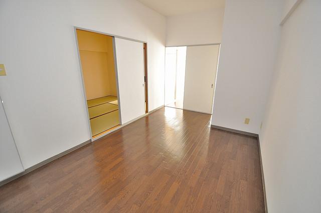 アバ・ハイム西村 解放感たっぷりで陽当たりもとても良いそんな贅沢なお部屋です。