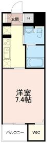 サンステージ永山4階Fの間取り画像