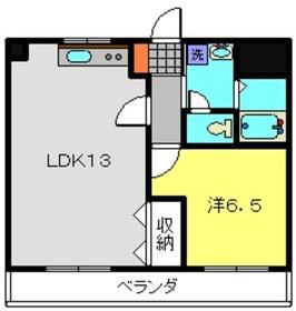 YKTビル2階Fの間取り画像