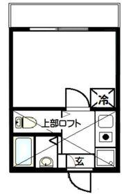 リーヴェルポート横浜鶴ヶ峰2階Fの間取り画像