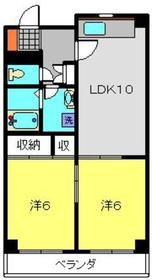 メゾンカワイ第53階Fの間取り画像
