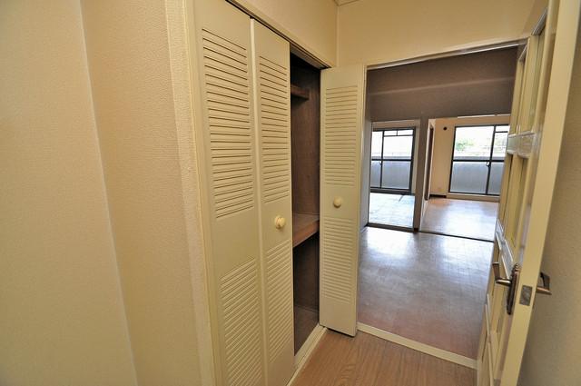 ラ・フォーレ西堤 収納がたくさんあると、お部屋がすっきり片付きますね。