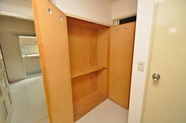 メゾンイサム もちろん収納スペースも確保。お部屋がスッキリ片付きますね。