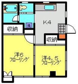 武蔵小杉駅 徒歩13分1階Fの間取り画像