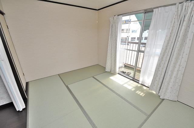大同マンション もう一つの癒しの空間。和室です。