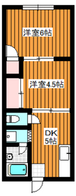 新高島平駅 徒歩8分2階Fの間取り画像