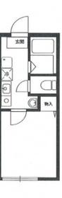 ブルーモンドヒル横浜天王町1階Fの間取り画像
