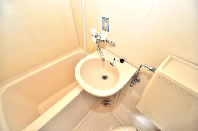 カーサデル吉松 忙しい朝にあなたを手助けしてくれる素敵な洗面台。
