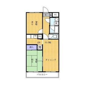 西高島平駅 徒歩16分3階Fの間取り画像