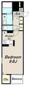 グレイスメロウ4階Fの間取り画像