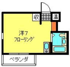 ヤスダハイネスト4階Fの間取り画像