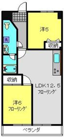 綱島駅 徒歩14分3階Fの間取り画像