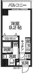 レオーネ大島Cube間取図
