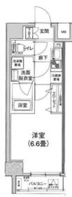 アイル横浜ベイサイド4階Fの間取り画像