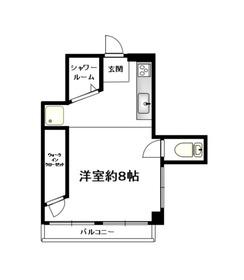NCマンション5階Fの間取り画像
