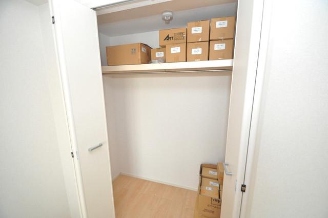 インペリアルライフ もちろん収納スペースも確保。お部屋がスッキリ片付きますね。