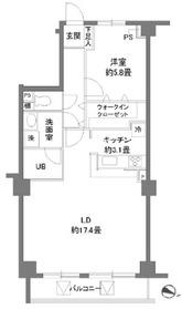 カスタリア原宿4階Fの間取り画像