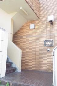 スカイコート駒沢エントランス