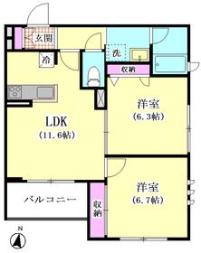 仮)大田区東糀谷1丁目シャーメゾン 202号室