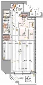 パティーナ上野9階Fの間取り画像