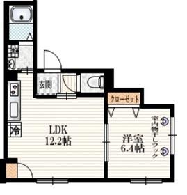 セナ・サンデリス1階Fの間取り画像