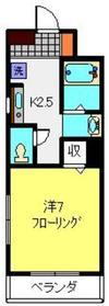 カルフール2階Fの間取り画像