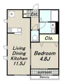 暖家II2階Fの間取り画像
