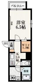 GRAPHITE HOUSE1階Fの間取り画像