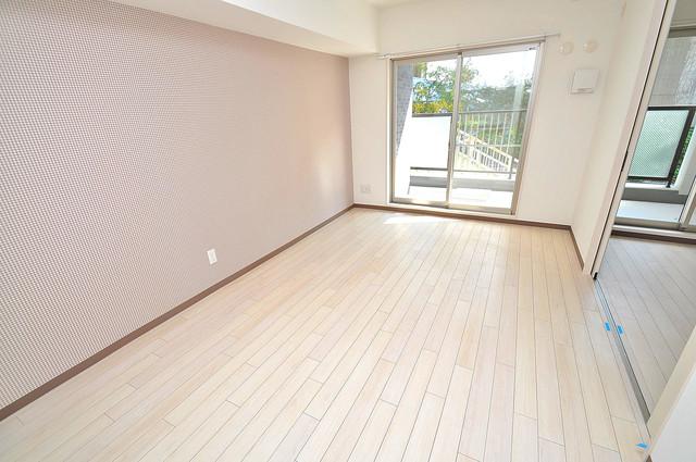 ラ・フォーレ久宝園 明るいお部屋は風通しも良く、心地よい気分になります。