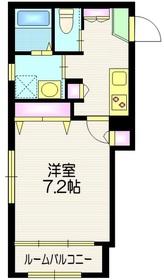 ボヌールトレセア2階Fの間取り画像