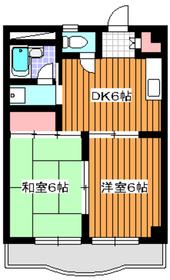 アプリコットガーデン3階Fの間取り画像