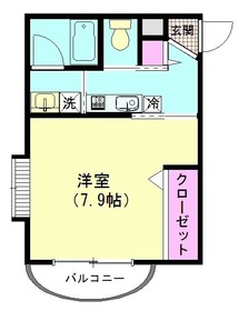 グレイスコート弐番館 106号室