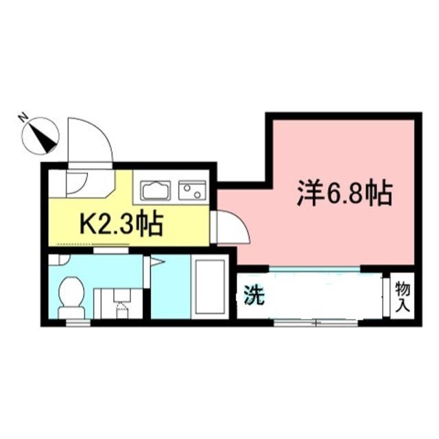 フォレストコート渋谷間取図