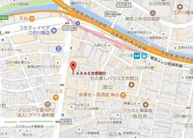江戸川橋駅 徒歩2分案内図