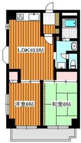 コミュニオン佼徳4階Fの間取り画像