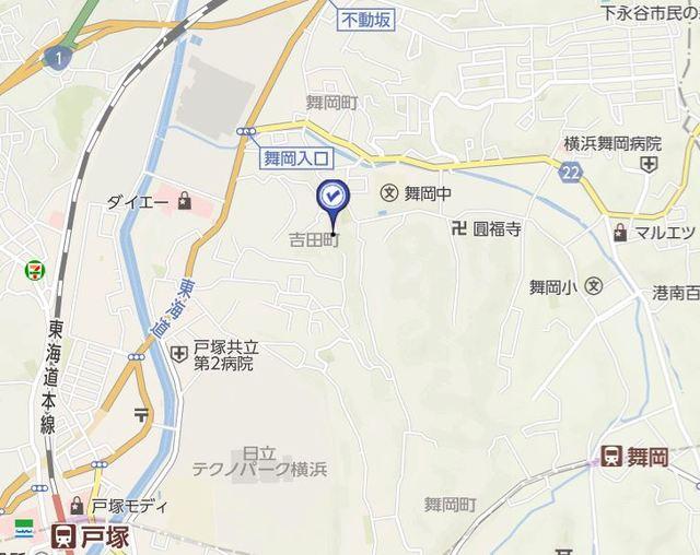 横浜元町ガーデンⅢ案内図