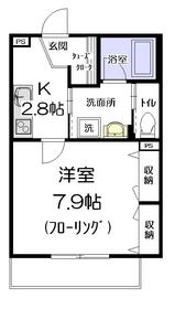 BELTIS椎名町1階Fの間取り画像