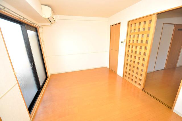 アンソレイユ菱屋西 解放感たっぷりで陽当たりもとても良いそんな贅沢なお部屋です。