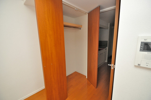 CASSIA高井田NorthCourt もちろん収納スペースも確保。お部屋がスッキリ片付きますね。