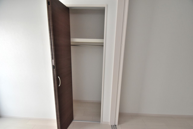 NEXT ONE もちろん収納スペースも確保。いたれりつくせりのお部屋です。