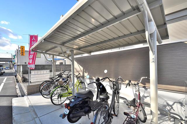 フジパレス高井田 あなたの大事な自転車も安心してとめることができますね。